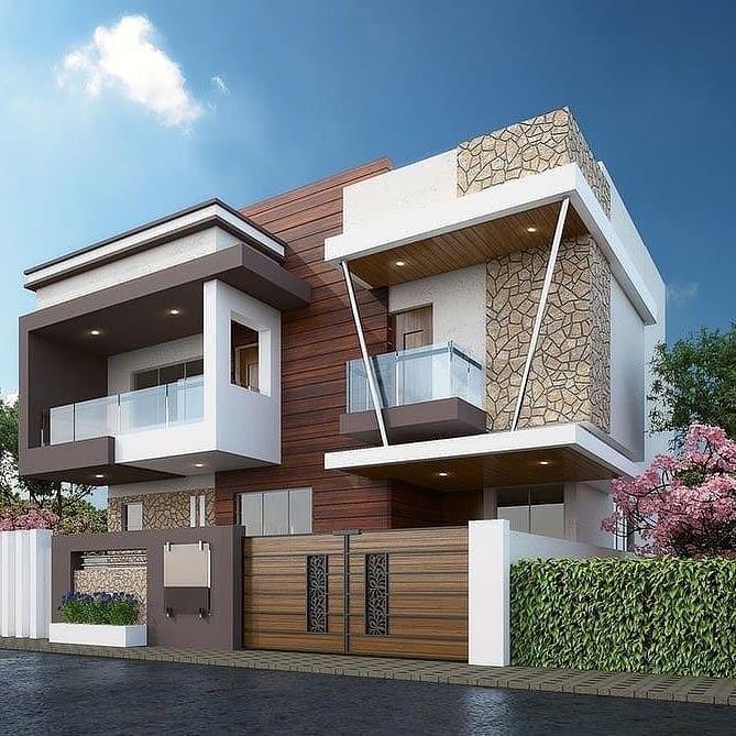 35 Beautiful Modern House Designs Ideas Modern House Design Modern Exterior House Designs House Designs Exterior