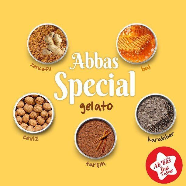 Gelato'nun mevsimi olmaz, lezzeti olur. Özel Tatlar'dan Abbas Special, kışın vazgeçilmezi olacak! #AbbasWaffleAnkara #AbbasGelato #ÖzelTatlar #AbbasSpecial