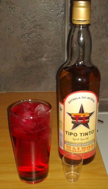 Tipo Tinto Rum - R&R with red Sparletta