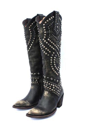 Boots/Sandals :: Boots :: OLD GRINGO BELINDA BLACK / BEIGE BIKER CHIC BOOTS! - Native American Jewelry|Ladies Western Wear|Double D Ranch|La...http://www.cowgirlkim.com/boots-sandals/cowgirl-boots/old-gringo-belinda-furia-snow-clone.html