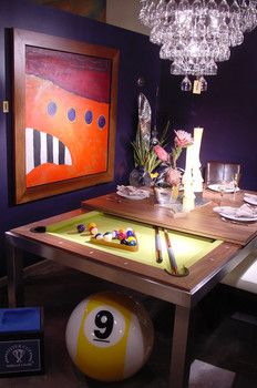 18 best pool tabledining table images on Pinterest Pool tables