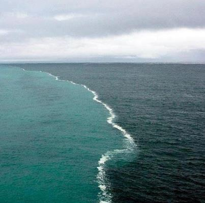 Cape Point, South Africa Where the Indian and Atlantic Ocean meet