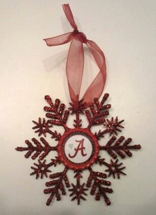 Alabama Roll Tide Crimson Tide Christmas Tree by CCSBOWTIQUE2010