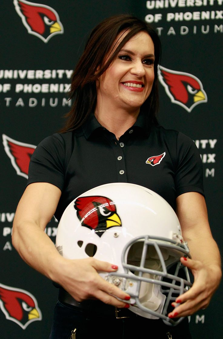 Jen Welter will serve as the NFL's first female assistant coach working with the team's inside linebackers throughout training camp and the preseason.