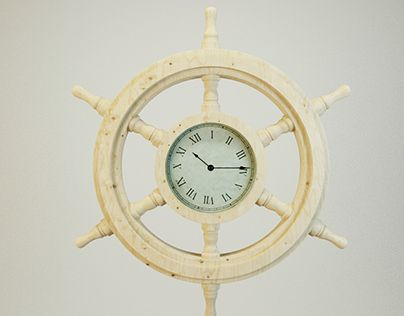 """Check out new work on my @Behance portfolio: """"Product Design - Ships Wheel clock"""" http://be.net/gallery/50480215/Product-Design-Ships-Wheel-clock"""