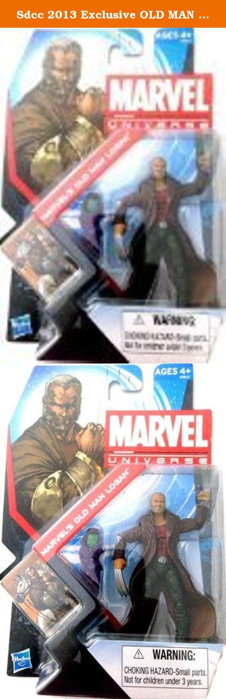 Sdcc 2013 Exclusive OLD MAN Logan with Baby Hulk Marvel Universe Wolverine. SDCC Exclusive Old Man Logan with Baby Hulk.