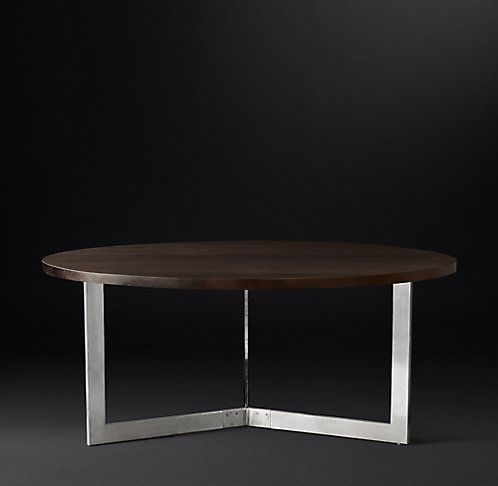 Wythe Round Dining Table | RH Modern