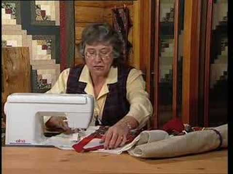 Another pinner wrote:  This is THE video that taught me how to bind my quilts. For all beginners, I think this is a must view.