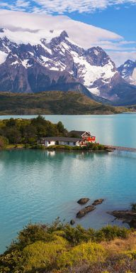 Lago Nahuel Huapi, Patagonia, Argentina....this is my dream house right here!