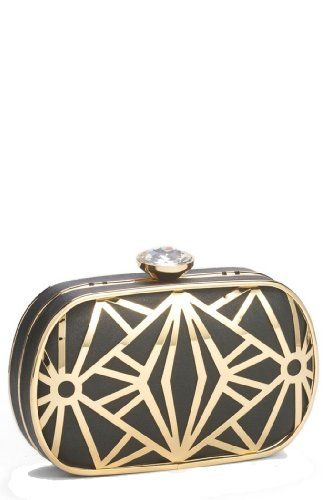 Natasha Metal Deco Clutch Natasha, To SEE or BUY just CLICK on AMAZON right here http://www.amazon.com/dp/B00HTS3OZE/ref=cm_sw_r_pi_dp_1RWutb18QYSVZ96H