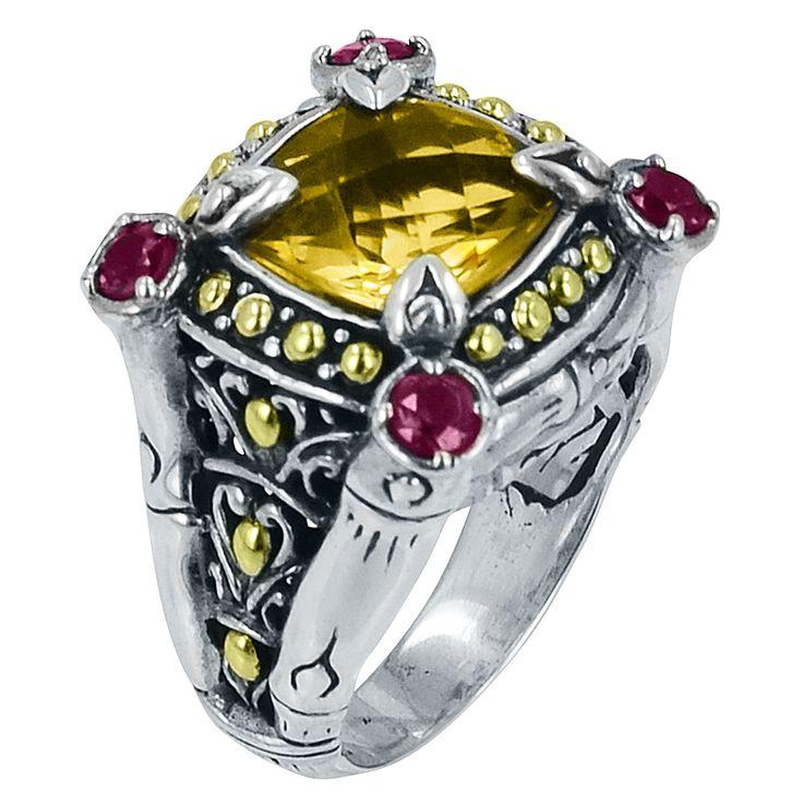 """Can you say """"oooooooooooohhhhhh!!!!"""" Great ring by Robert Manse Designs."""