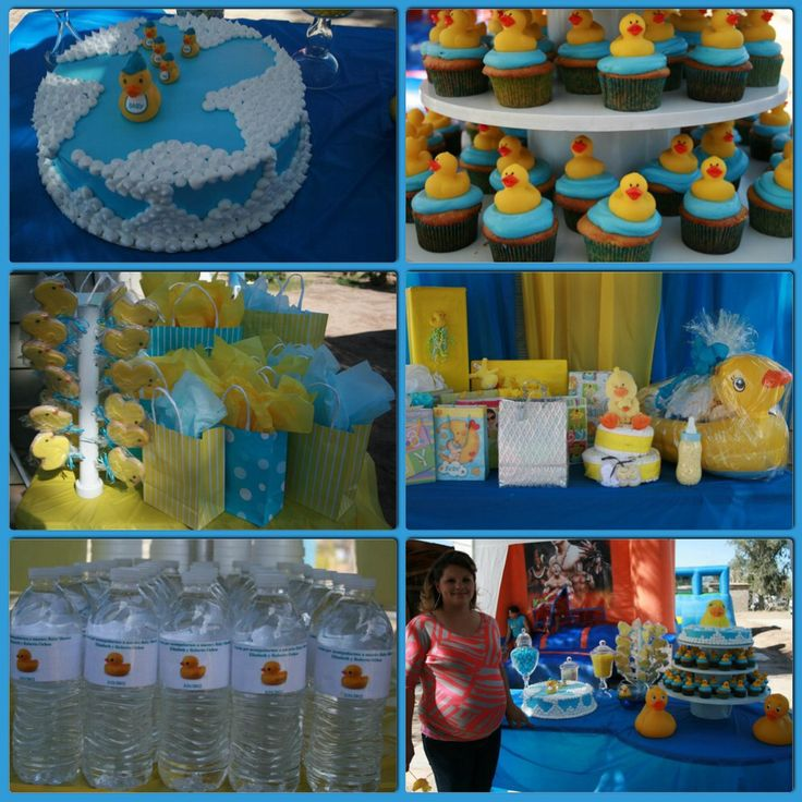 Rubber Ducky Theme Baby Shower