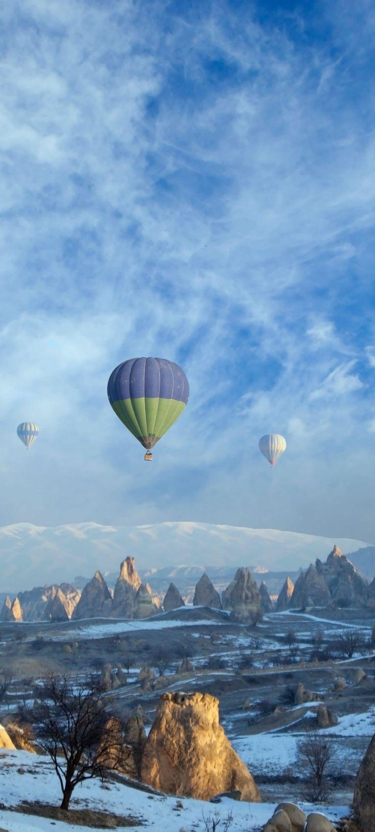 Cappadocia (Kapadokya), TURKEY.