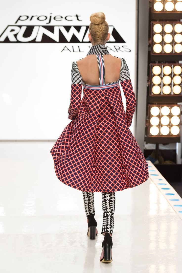 Dom Streater- Project Runway All Stars Season 5 Episode 8 Look :