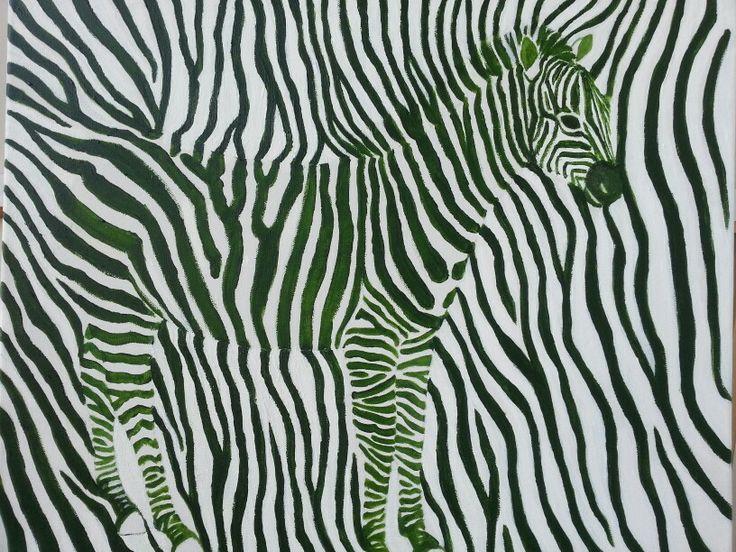 Dizzy. 2013. 53.0 x 45.5cm. Acryl on Canvas.