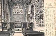 Oxford Interior Keble College Chapel, interieur