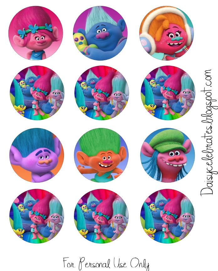 http://daisycelebrates.blogspot.com/2016/10/trolls-movie-birthday-party-printable.html#!/2016/10/trolls-movie-birthday-party-printable.html