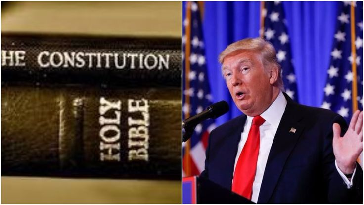 "Trump Religious Liberty Executive Order To Turn Churches Into Republican Super PACs with political speeches for sermons. Surely, this is unconstitutional...trump, once again, defying his oath to ""preserve protect and defend"" the constitution."