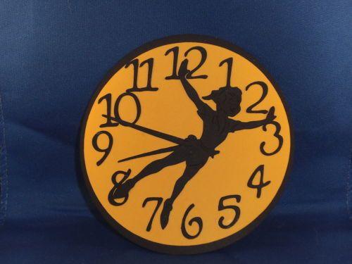 Disney Peter Pan Clock