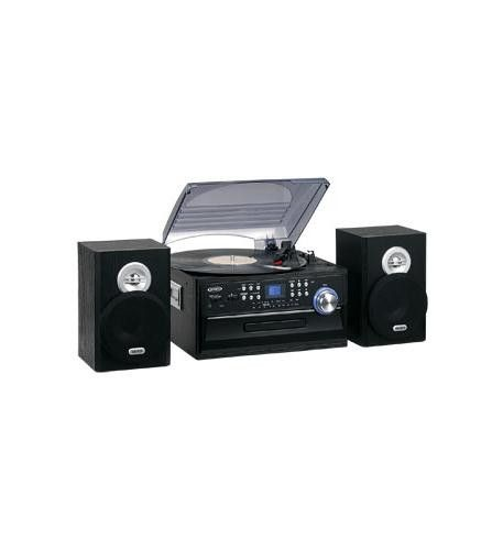3-Speed Turntable with CD- Radio- Remote