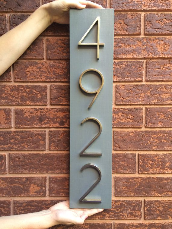 30 best house number images on Pinterest House number plates