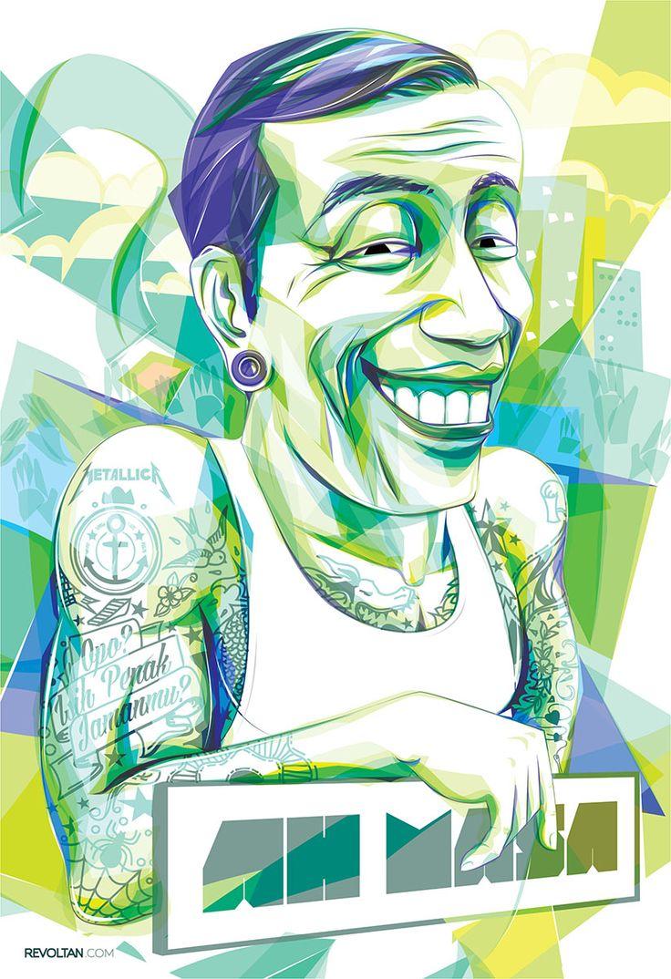 'Ah Masa' 2013. by: Revoltan. #vector #illustration #vectorart