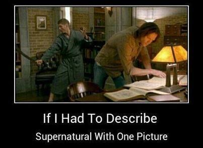 Supernatural with one picture