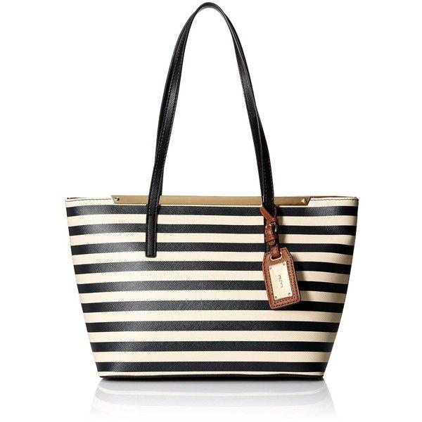 Aldo Vanwert Tote Bag (35 CAD) ❤ liked on Polyvore featuring bags, handbags, tote bags, aldo, tote bag purse, white tote handbags, mini purse and white tote