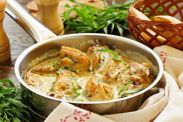 """Рецепт этого соте записан давно, и даже готовила, правда без тархуна, но именно с ним, вкус блюда получается просто изумительным. Рекомендую всем! Это очень, очень вкусно. Рецепт из ТВ передачи """"Французская кухня с Лаурой Колдер""""."""