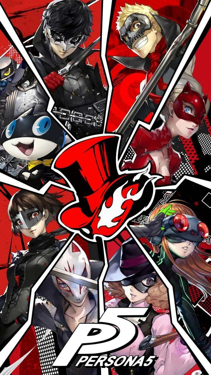 Persona 5 Wallpaper Hd Phone Backgrounds Characters Art Ideas For Iphone Android Lock Screen In Persona 5 Anime Persona 5 Joker Persona 5