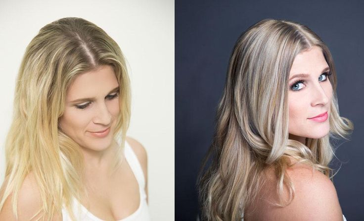 Models, Colors and Hair on Pinterest