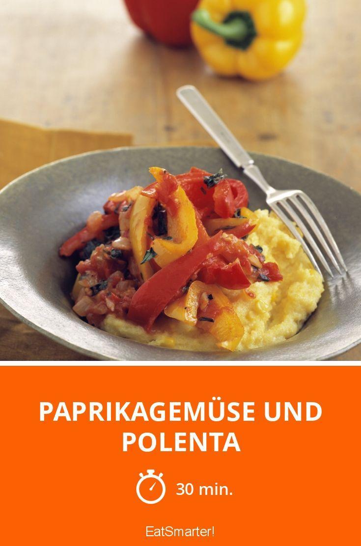 Paprikagemüse und Polenta - smarter - Zeit: 30 Min.   eatsmarter.de