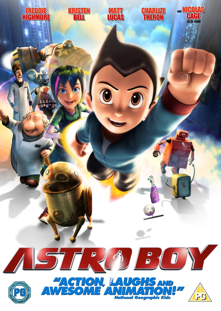 Astro Boy movie. Watched on June 27, 2015.