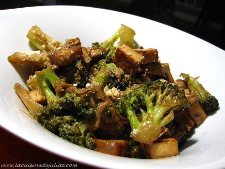 tofu fumé au brocoli2w
