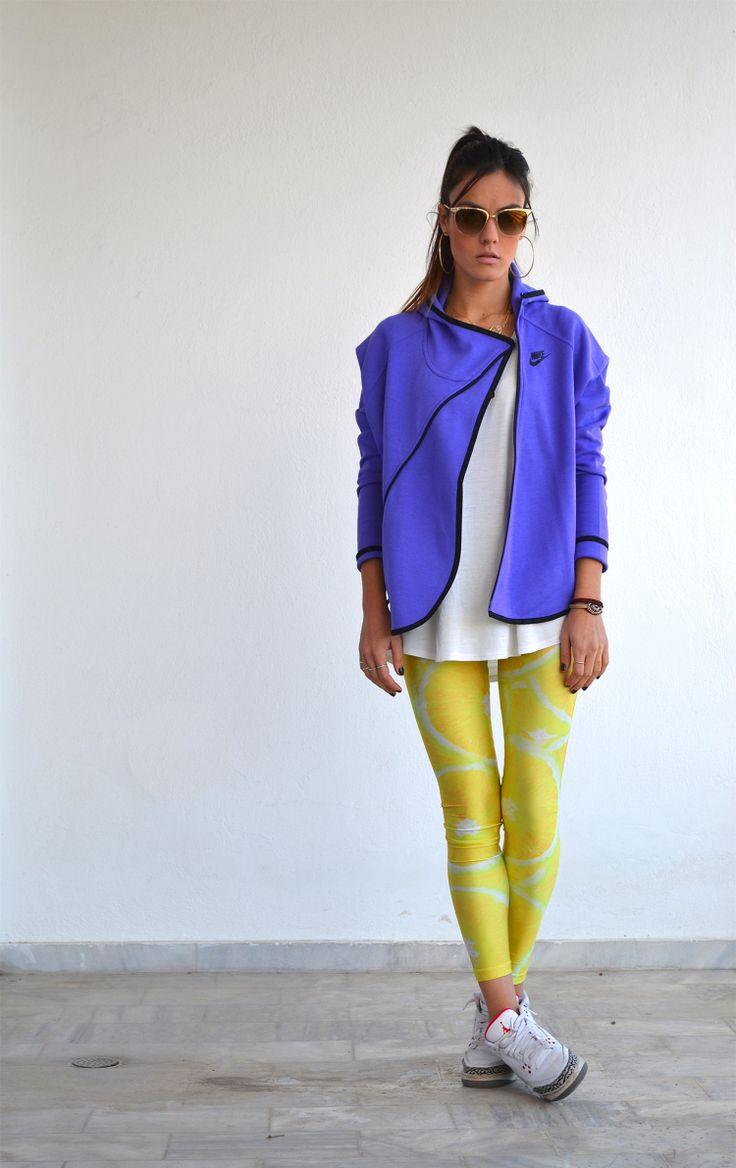 Nansy with the grapefruit PCP leggings //  #pcpclothing #pcpleggings #pcpinia