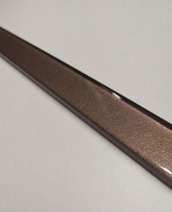 listwa szklana brązowa 60×2,3 MLECZNA CZEKOLADA
