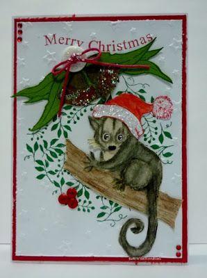 BaRb'n'ShEll Creations-Aussie Christmas, Possum - BaRb