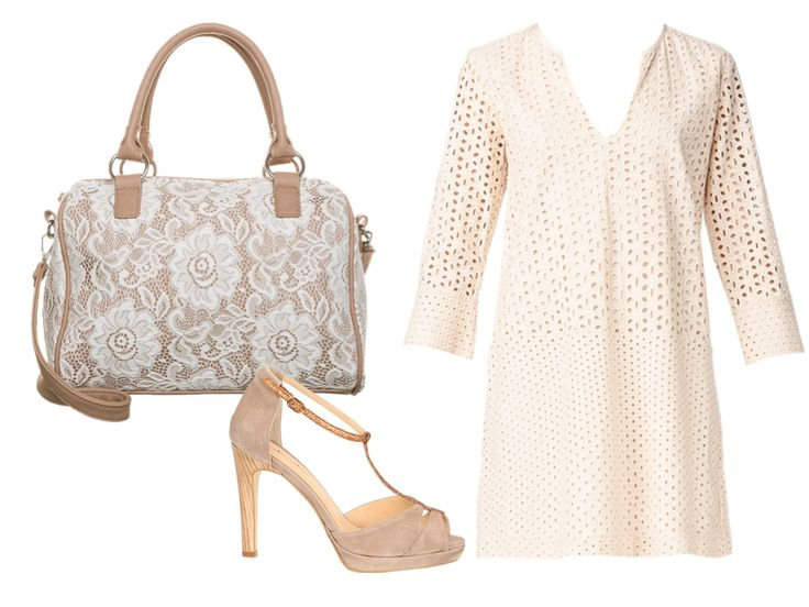 white lace dress by saab
