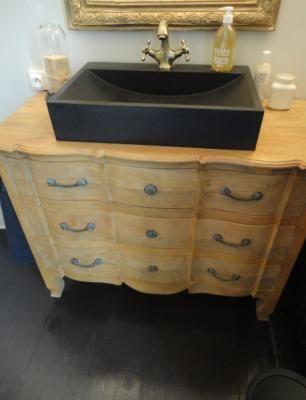Les 25 meilleures id es de la cat gorie meuble vasque for Commode salle de bain leroy merlin