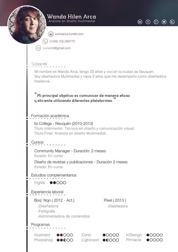 77 best Resume Inspiration images on Pinterest Editorial design - how to make an amazing resume