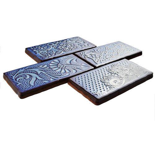 "Found it at Wayfair - Antiqua 3"" x 6"" Ceramic Tile in Feelings Via Lactea"