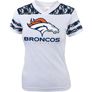 It's football time! NFL+Girls'+Denver+Broncos+Short+Sleeve+Tee