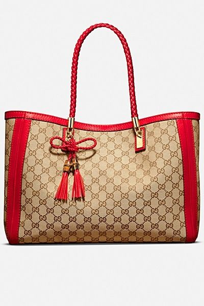 Love the red.. Gucci Need this to be my next bag.  so in love with it