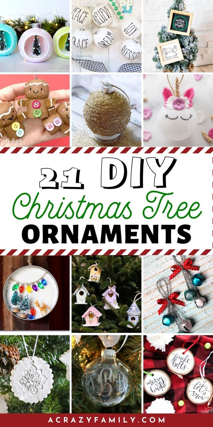 21 Creative Christmas Tree Ornaments Diy Christmas Tree Ornaments Creative Christmas Trees Christmas Cheap