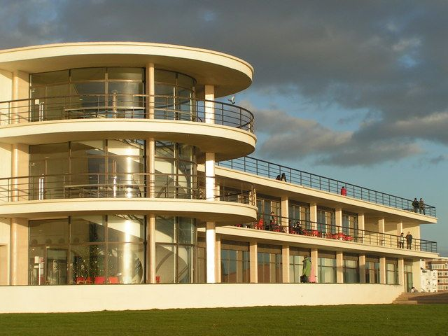 The De La Warr Pavilion, Bexhill-on-Sea, Sussex, England (1934). In collaboration with Serge Chermayeff.