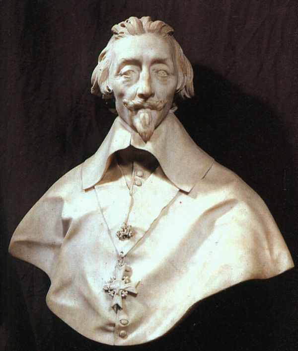Bernini Busto Del Cardenal Richelieu Museo Do Louvre