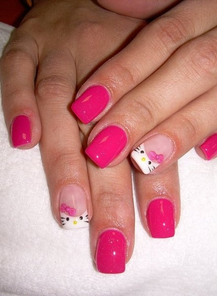 25+ best ideas about Hello Kitty Nails on Pinterest ...