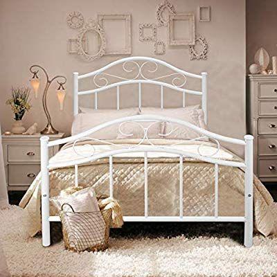 Best Amazon Com Kingpex Metal Bed Frame Twin Size Headboard 400 x 300