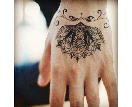 Tinte-Muster-Haut zeichnen Arm Tätowierung Hochzeit Haut Malerei Papiervorrat ethnische Kunst Mandala, Mandala Art Buddhismus geometrische Tätowierung