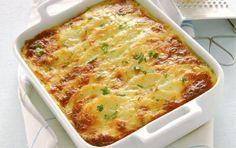 ΟΡΕΚΤΙΚΑ | Συνταγή για πατάτες με μπεσαμέλ και κεφαλογραβιέρα. Πατάτες ογκρατέν.